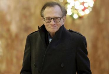 Apresentador Larry King é internado com Covid-19 | Richard Drew | AP