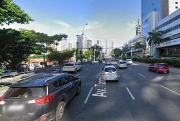 Tráfego é modificado na Avenida Tancredo Neves para avanço de obras | Divulgação