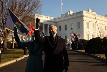 Satisfação de aliados e ceticismo de adversários com chegada de Biden à Casa Branca | Chip Somodevilla | Getty Images via AFP