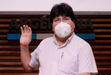 Ex-presidente da Bolívia, Evo Morales, comemora vitória da esquerda no Peru |