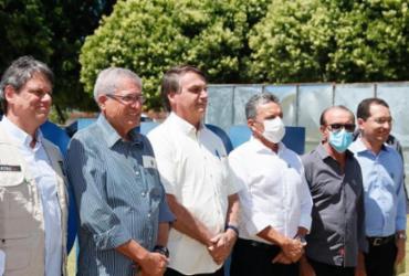 Na Bahia, Bolsonaro promete impedir que estrangeiros comprem terra no país | Isac Nóbrega | PR