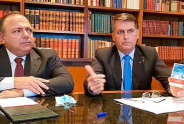 Lewandowski encaminha notícia-crime contra Bolsonaro e Pazuello à PGR | Reprodução | Facebook