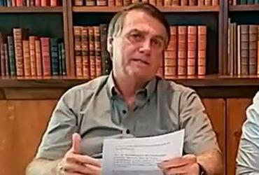 Importação de insumo de vacinas é questão burocrática, diz Bolsonaro | Reprodução | Redes Sociais