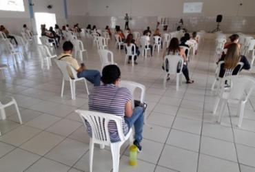 Profissionais da Educação em Brumado recebem treinamento para o retorno das aulas presenciais