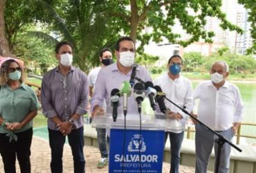 Gestor soteropolitano condenou o posicionamento do comitê científico do grupo que pediu por um lockdown geral no país - Valter Pontes / Secom