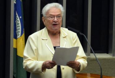 Psol lança o nome de Erundina para disputar a Presidência da Câmara |
