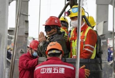 Nove mineiros presos em mina de ouro chinesa são encontrados mortos | AFP