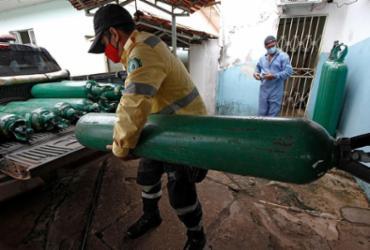 CNA envia oxigênio para ajudar Amazonas | Marcio James | AFP