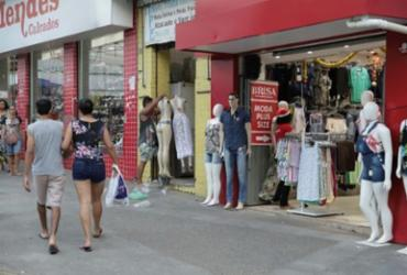 Fecomércio: comércio baiano reduz vendas ao crescer 0,5% em novembro | Uendel Galter I Ag. A Tarde
