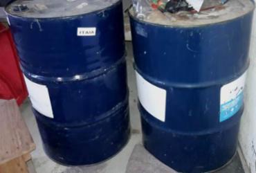 Depósito clandestino de combustíveis é localizado no interior baiano