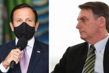 Doria e Bolsonaro trocam acusações sobre colapso em Manaus | Reprodução