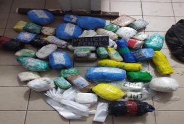 Drogas e celulares são apreendidos no presídio de Salvador | SEAP