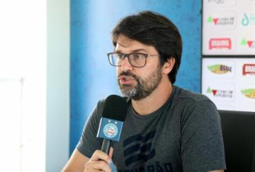 """Bahia detona arbitragem após derrota contra o Grêmio: """"Da vergonha para o escândalo""""   Rafael Machaddo   EC Bahia"""