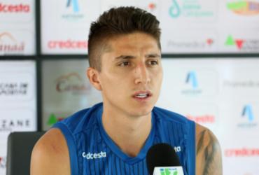"""Ramírez sobre luta contra o rebaixamento: """"Seguir trabalhando""""   Felipe Oliveira   EC Bahia"""
