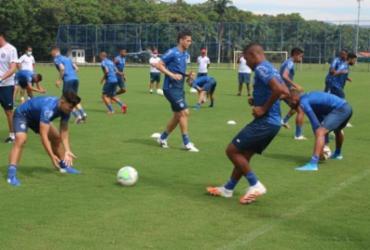Atacante do sub-20 é promovido ao time principal e vira opção contra Grêmio   Divulgação   EC Bahia