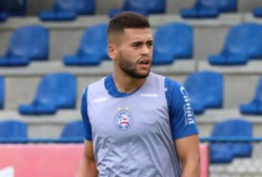 Volante Patrick de Lucca se recupera da Covid-19 e volta aos treinos   Felipe Oliveira   EC Bahia