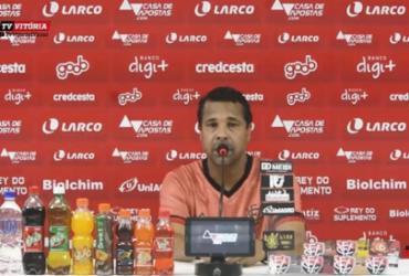 Rodrigo Chagas comemora permanência na Série B e fala sobre fantasma do rebaixamento | Reprodução | E.C.Vitória