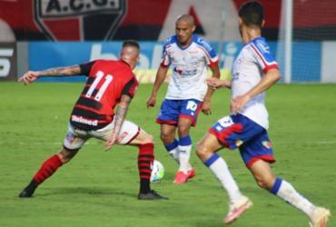 Bahia empata com o Atlético-GO e interrompe sequência de derrotas   ECBahia