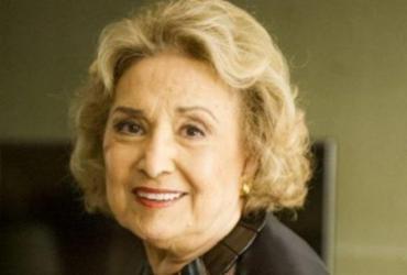 Atriz Eva Wilma, de 87 anos, está internada na UTI para tratar pneumonia | Divulgação
