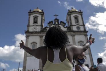 Sinos da Basílica do Senhor do Bonfim voltam a tocar nesta 5ª | Uendel Galter | Ag. A TARDE