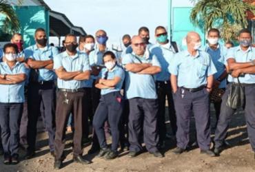 Sem salários, rodoviários de Feira de Santana paralisam atividades