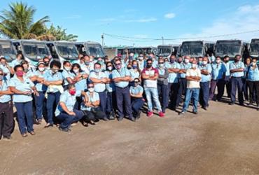 Rodoviários alegam atraso de salário e paralisam as atividades em Feira de Santana