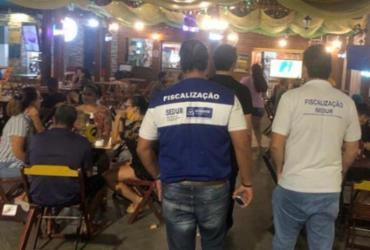 Treze estabelecimentos foram interditados em Salvador no fim de semana | Divulgação | Prefeitura de Salvador