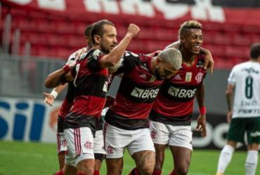 Flamengo vence Palmeiras e segue na luta pelo título | Alexandre Vidal | CR Flamengo