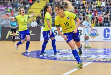 Com hepta de Amandinha, Brasil domina premiação do futsal mundial |