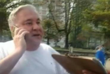 Gilmar Mendes suspende inquérito de desembargador que humilhou guarda em SP | Reprodução | TV Tribuna