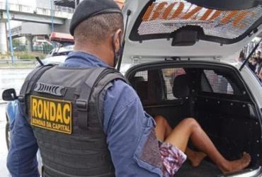 Homem é linchado por populares após assalto na avenida Bonocô; suspeito foi preso | Divulgação | GMC