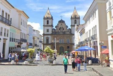 Incêndio atinge restaurante no Centro Histórico de Salvador | Reprodução | Google Street View