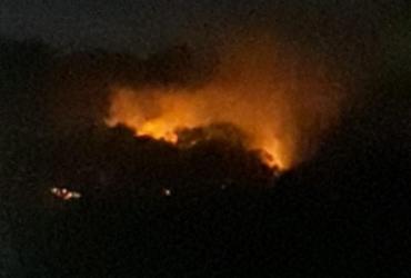 Incêndio atinge terreno em Canabrava após pedido de reintegração de posse | Reprodução | Cidadão Repórter Via Whatsapp