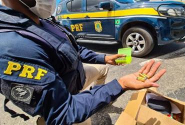 Cerca de 40 munições são apreendidas em ônibus em Jequié