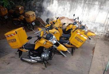 Ladrões furtam pneus de motos dos Correios no interior da Bahia
