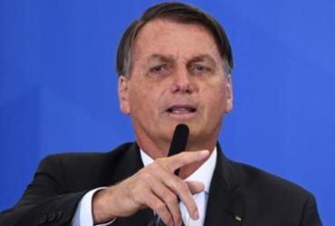 'Não fique falando besteira', diz Bolsonaro a Macron sobre a soja brasileira | Evaristo Sa | AFP