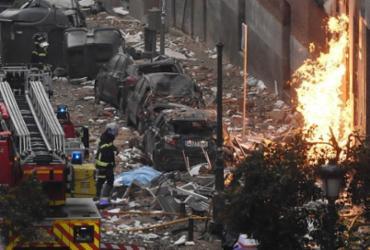 Sobe para quatro o número de mortos em explosão em Madri | Oscar Del Pozo | AFP