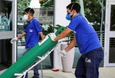Oxigênio enviado pela Venezuela a Manaus chega ao Brasil | Arquivo | AFP