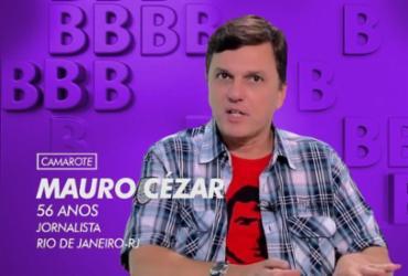 Internautas pedem comentarista Mauro Cezar no BBB após saída da ESPN | Reprodução | Twitter