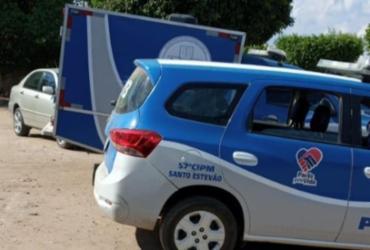 Mecânico é assassinado a tiros no município de Santo Estêvão