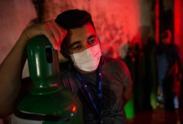 Oxigênio para democracia | Michael Dantas | AFP