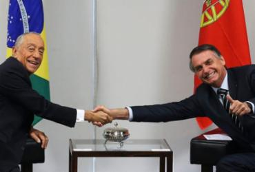 Por reeleição, Bolsonaro parabeniza presidente de Portugal | Antonio Cruz | Agência Brasil