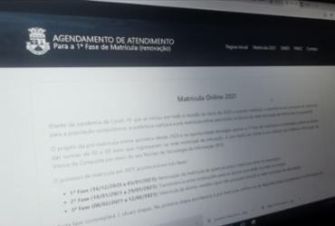 Prorrogado prazo da matrícula dos alunos da rede municipal de Vitória da Conquista