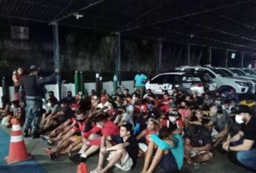 Em meio ao caos, 71 são presos por desobedecer 'toque de recolher' em Manaus | SSP-AM I Divulgação