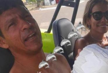 Ex-surfista brasileiro é mordido na mão por tubarão em Noronha | Reprodução | Redes Sociais