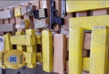 Suspeita de tráfico é presa em Vitória da Conquista com 50 kg de drogas