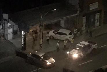 Tentativa de assalto seguida de tiroteio assusta moradores da Pituba | Reprodução