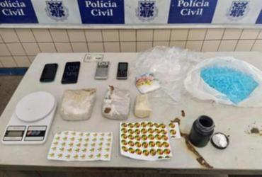 Suspeitos de traficar drogas são presos pela Polícia Civil em Jequié