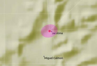 Tremor de terra é registrado pelo segundo dia seguido em Jacobina, norte da BA