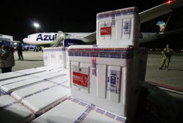FOTOS: Bahia recebe primeiro lote de doses de vacina |